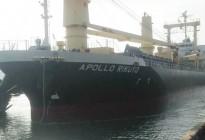 Tàu APOLLO RIKUYO vận chuyển 8.000 tấn phân bón S.A Toray Nhật Bản do Apromaco nhập khẩu cập cảng Quy Nhơn