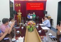 Chi bộ Tổ chức Hành chính tổ chức kết nạp đảng viên mới