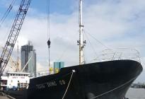 Hàng loạt các tàu chở phân bón do Apromaco nhập khẩu cập cảng TP.HCM.
