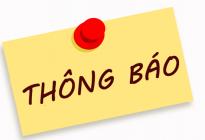 Thông báo nghỉ tết Dương lịch năm 2018