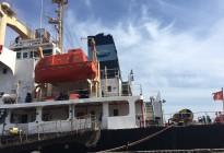 Tàu VINH AN chở 5.600 tấn Urea Indo hạt đục  cập cảng Hoàng Diệu Hải Phòng 06/07/18